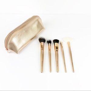 Morphe 5 Piece Makeup Brushes & Bag